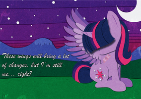 Twilight Sparkle Paper Vector by MidwestBrony