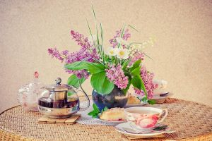 Time for tea by Emmatyan