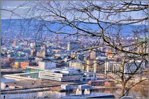 Oslo from the East by Arte-de-Junqueiro