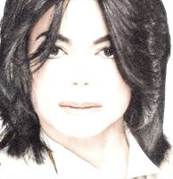 Michael Jackson drawing by Vilibald Martic by UmjetnikVelikaSrca