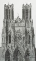 Cathedral of Reims by wyldin