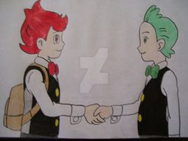 Cilan and Chili by AJLeefan4life