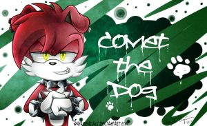 Commish: Comet The Dog by Sayamiyazaki