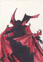 Spawn's Sexy Badass Cape by Masteronin