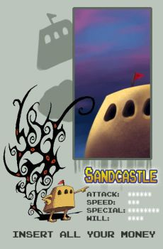 Sand Pudding Challenger ID by Sandcastle