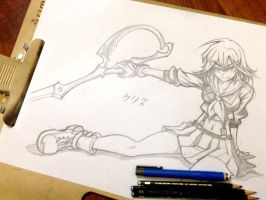 Ryuko Matoi - Kill la Kill by yourcris