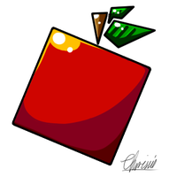 Square Apple by CrispyCh0colate