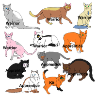 Warrior Cat Adopts! {OPEN} by SNlCKERS