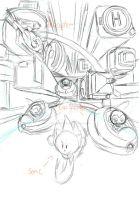 Speed Highway Pencils by NextGrandcross