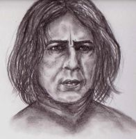 Severus Snape by LeahRosslyn