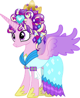 Cadance's Ceremonial Headress by JordiLa-Forge