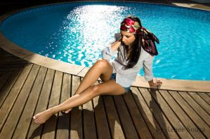 By the pool II by renee80souza
