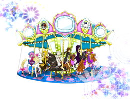 Carousel Ride by Caipryss