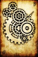 WRD: Seven of Cogs by TormentedArtifacts