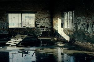 Abandoned Warehouse by S-H-Photography