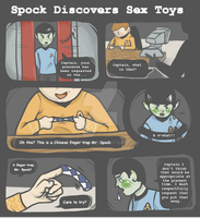 Spock Discovers Sex Toys by BriarFaun