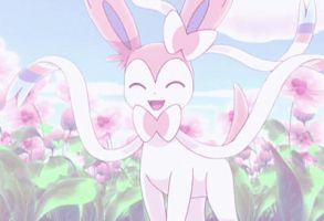 Sylveon - Flower Screenshot by LilyLocket