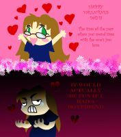 V-day for the lonely by Ary-Capricat