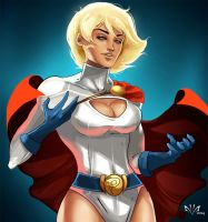 Power Girl by Arkenstellar
