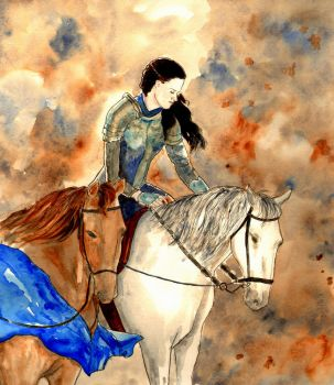 Snow White and The Huntsman by LittleSeaSparrow