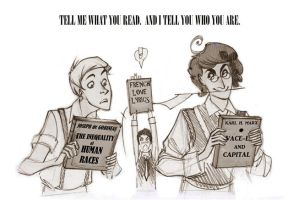 Tell me what you read...con by Phobs