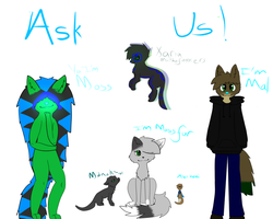 Ask Us! by M0ssie