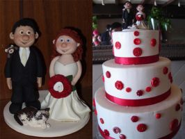 Wedding Cake Topper 2 by Rook-XIII