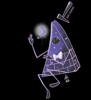 The Sweetest Chillin Bill Cipher by SugaryDeath