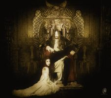 Krom and LadyVampCruel by LilithVonCarter