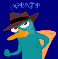 Agent P colored by bloodplusrocks
