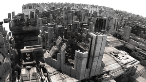 another city - Mandelbulb3D with Parameter by matze2001