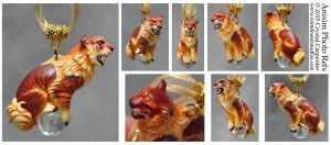 Shisa Ornament - Anisim by soulofwinter