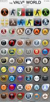 Valve World icon pack by vaksa