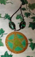 Pentacle of the Trees by witchcraftywolfen