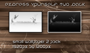 express yourself 2 pack by DaNoTomorrow
