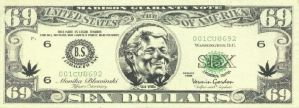 69 Dollar Bill By Kyle Gv by FloydVoid