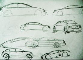 automobile rough design by akkigreat