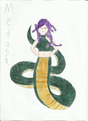 Medusa- Requested by Hauntedphoenix