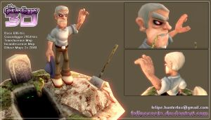 The Gravedigger 3D by felipecosta