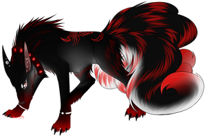 Hell's Hound -comm- by MinzyKat