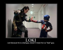 Loki demotivational poster by ToraChan15