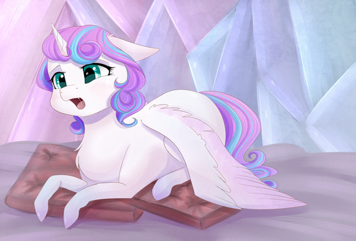 Sleepy Flurry by Chiweee