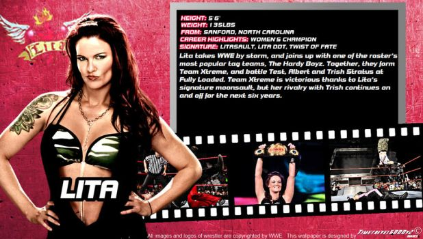 WWE Lita ID Wallpaper Widescreen by Timetravel6000v2