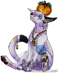 Kai Pumpkin Pose -NOT FOR FREE USE- by Ankhlet