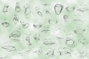 Mouth-Expressions by Quatre4
