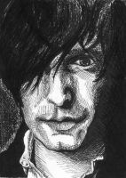 Trent Reznor : in pen by SnowyBunny16