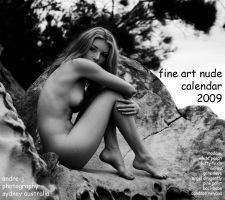 fine art nude calendar cover by andre-j