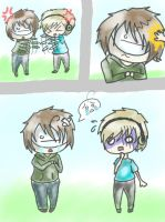 PewdieCry Comic Page 1 (remake) by LokittyL