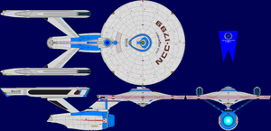 USS Indomitable Multi-View by captshade