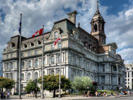 Montreal Town Hall by MisterKrababbel